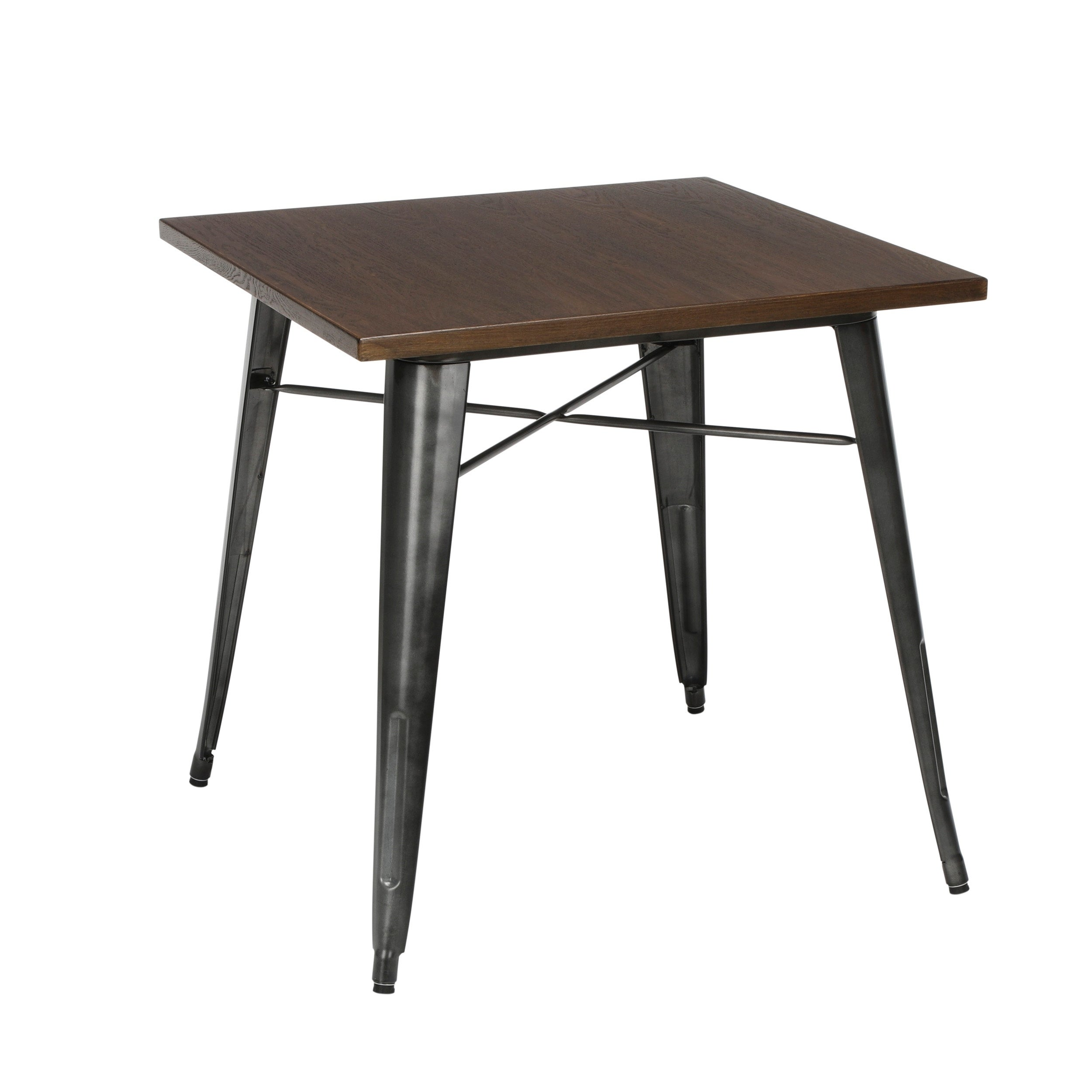 Shop Ofm 161 Collection Industrial Modern 30 Square Dining Table