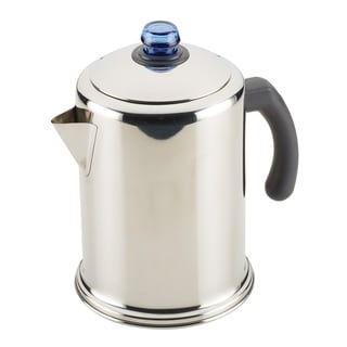 Link to Farberware Classic Stainless Steel Coffee Percolator, 12-Cup Similar Items in Cooking Essentials