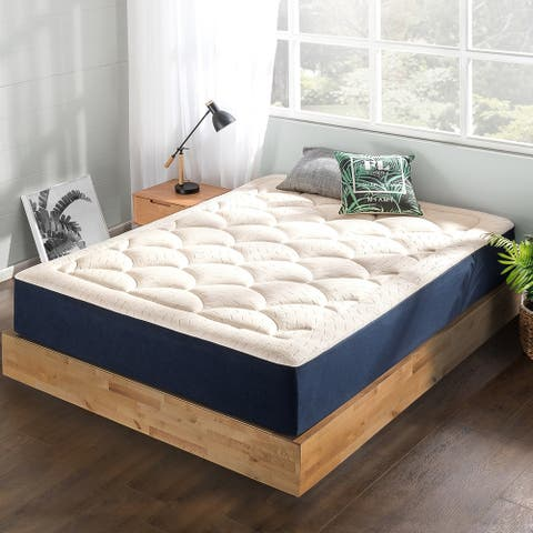 12-inch Plush Memory Foam Marshmallow Quilted Top Mattress