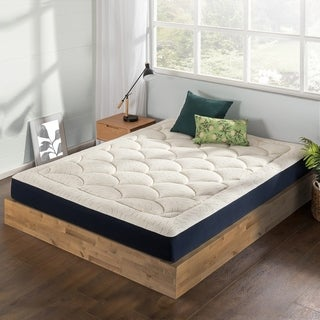 Link to 8-Inch Marshmallow Mattress -Plush Memory Foam, Quilted Top, Certified Fabric & Foams- Crown Comfort Similar Items in Bedroom Furniture