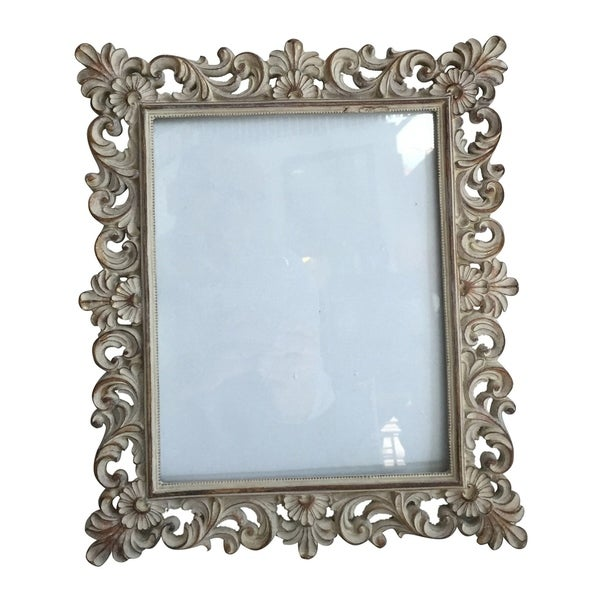 Antique Silver 14-inch Photo Frame