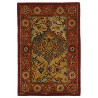 Safavieh Handmade Heritage Siobhan Traditional Oriental Wool Rug