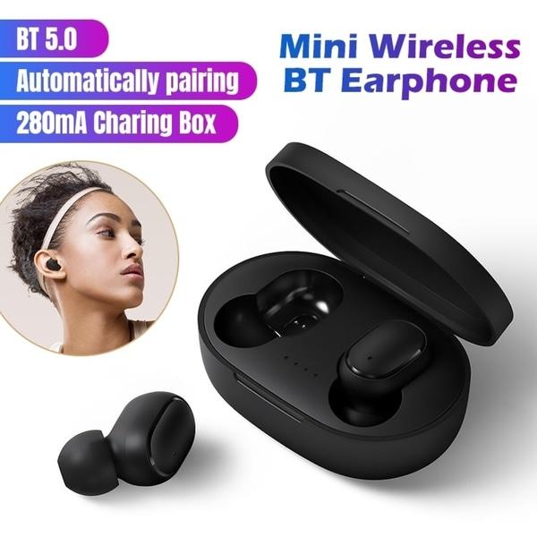 Wireless Bluetooth Earphone Bluetooth 5.0 Wireless Earbuds Stereo in Ear Wireless Ear Buds Earphone. Opens flyout.