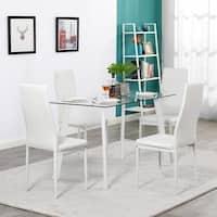 Buy Glass Kitchen Dining Room Sets Online At Overstock Our Best Dining Room Bar Furniture Deals