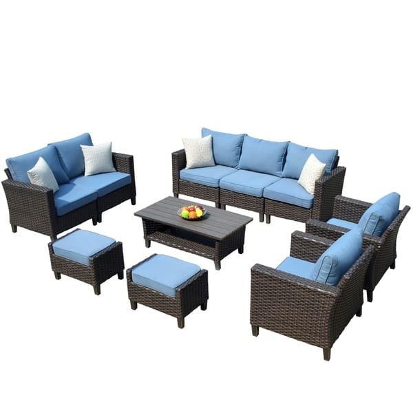 Ovios Patio Furniture Outdoor Sets High Back