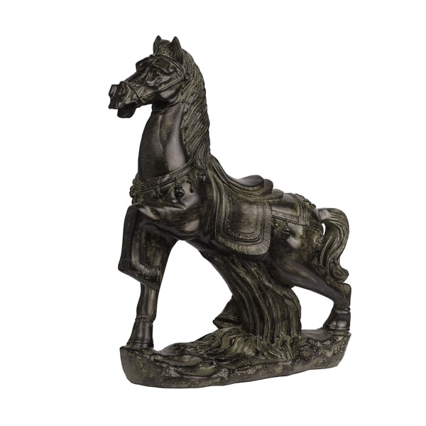 Antique Bronze 13-inch Horse Statue