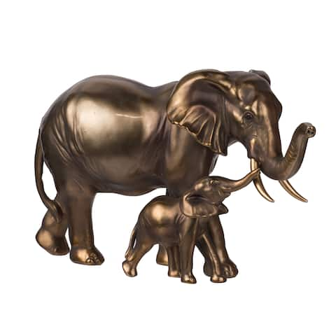 Copper 7-inch Elephant Statue