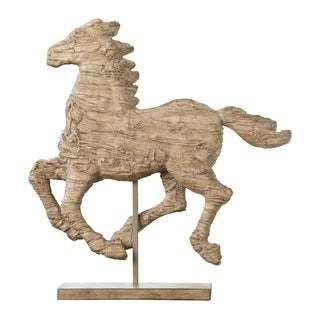 Natural 15-inch Defiance Spirited Horse Accent