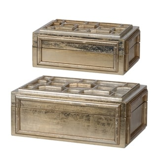 Gold 6-inch The Caddy (Set of Two)