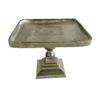 Vivi 9-inch Silver Pedestal