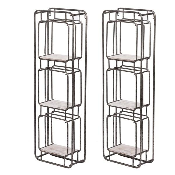 Metro 36-inch Silver Shelf