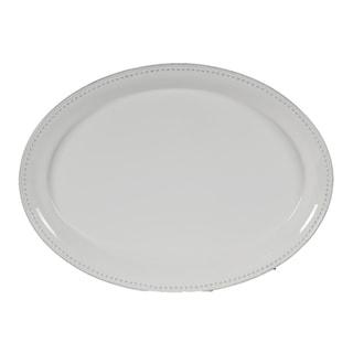 Gloss White 2-inch Serving Platter