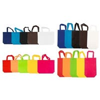 40-Pack Party Favor Bags Non-woven Gift Goody Tote Bags 2 Size 10 Assorted Color