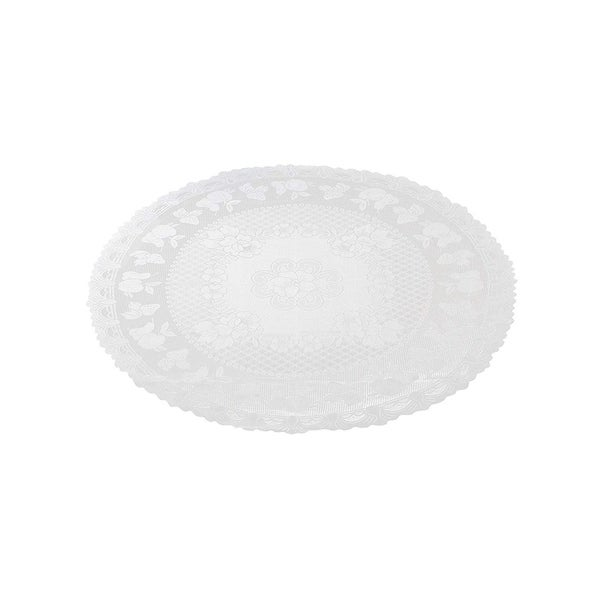 """71"""" Round Lace Tablecloth Elegant Floral Table Cloth For Birthday Wedding Party"""