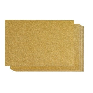 """24-Pack Blue Glitter Cardstock DIY Craft Decorative Paper Scrapbooking 8 x 12"""""""