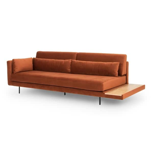 Fantastic Shop Kardiel Mid Century Davenport 95 Sofa Daybed Width Uwap Interior Chair Design Uwaporg