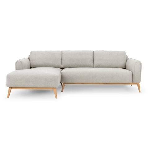 "Kardiel Mid-Century Metro 100"" Sofa Sectional Left - Width 100.4"" x Depth 60.2"" x Height 31.5"""