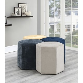 Link to Carson Carrington Ladugarden Contemporary Tufted Ottoman Similar Items in Living Room Furniture