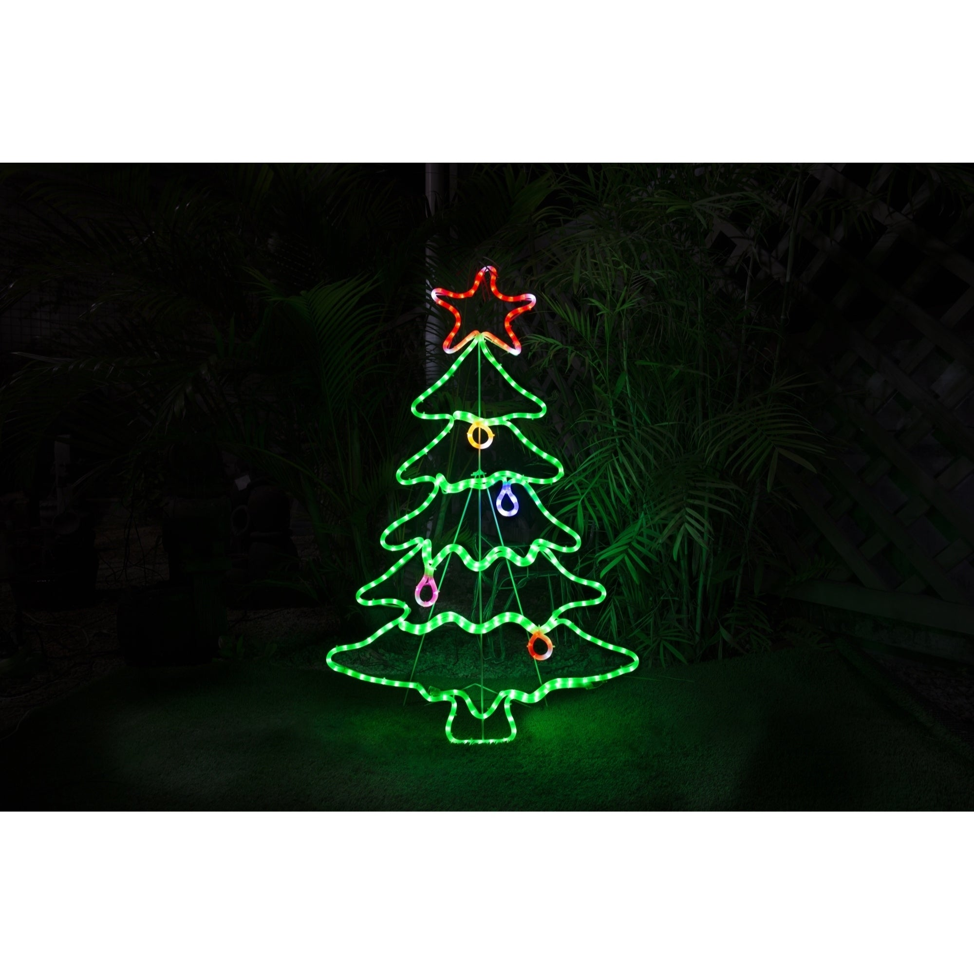 45in LED Rope Light Tree Christmas Decoration