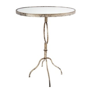 Gold 27-inch Oval Table
