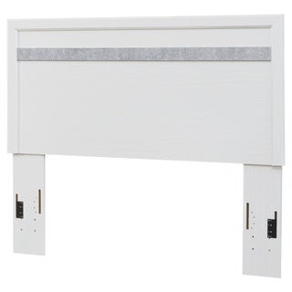 Jallory White Panel Headboard