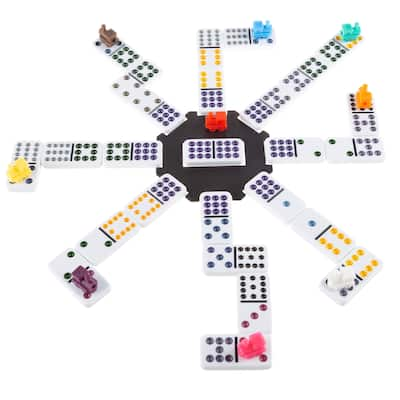 Mexican Dominos by Hey! Play! - Multicolor - 7.5 x 4 x 2.5