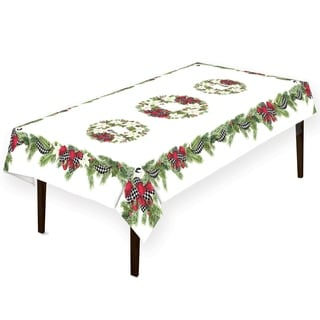 Christmas Trimmings Tablecloth