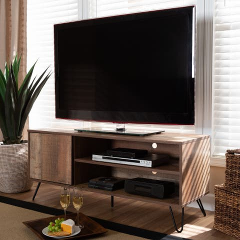 Iver Modern and Contemporary 1-Door TV Stand