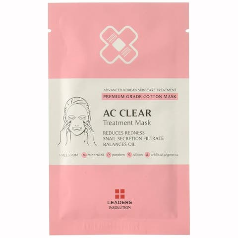 Leaders Insolution AC Clear Treatment Mask 1 Sheet