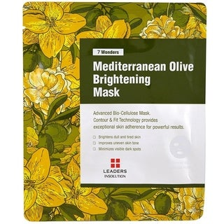 Leaders Insolution 7 Wonders Mediterranean Olive Brightening Mask 10 Sheets
