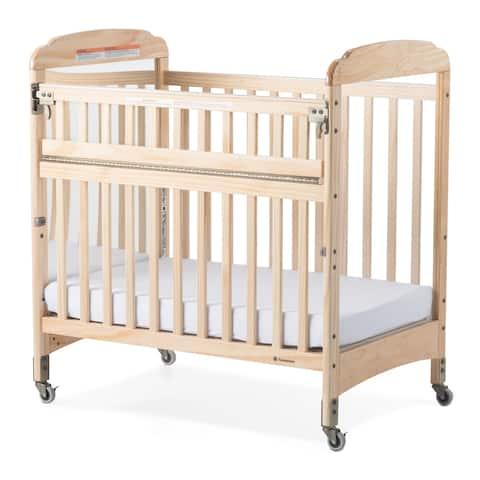 Next Gen Serenity® SafeReach® Compact Mirror Crib - Natural