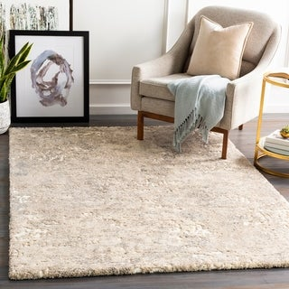 Arezzo Plush Abstract Area Rug