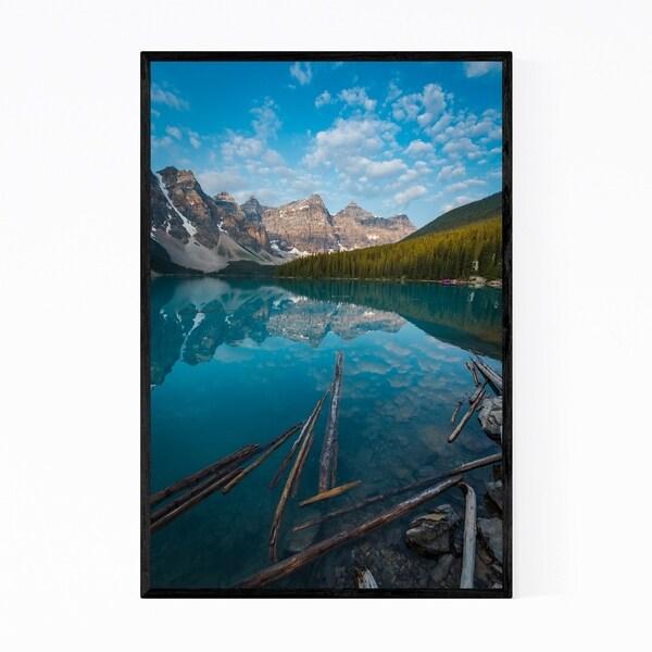 Noir Gallery Moraine Lake Canada Framed Art Print