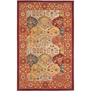 Safavieh Handmade Heritage Traditional Bakhtiari Multi/Red Wool Area Rug (3' x 5')
