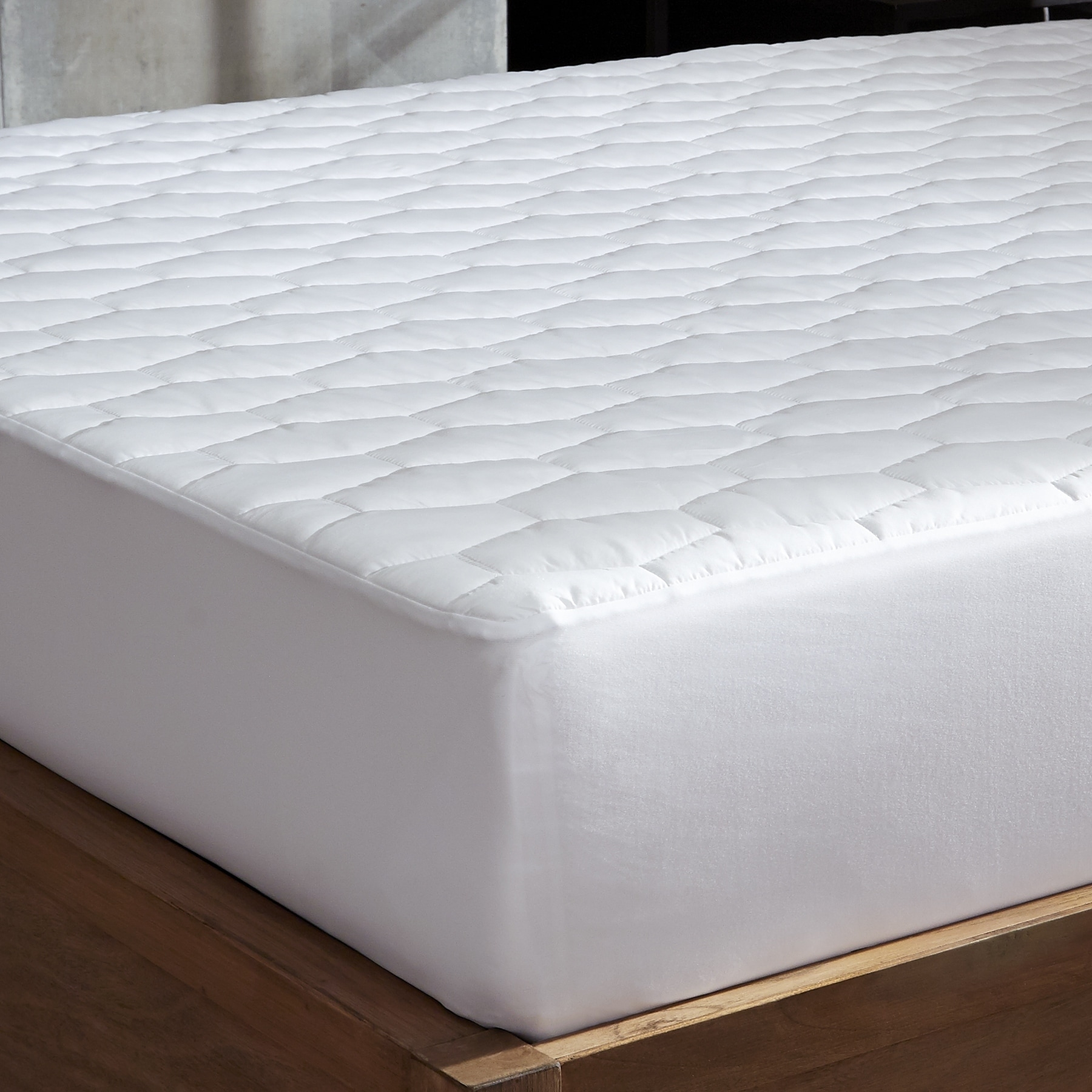 """Quilted Down Alternative Mattress Pad Topper Cover Protector Machine Wash 15/"""""""