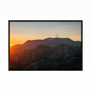 Noir Gallery Hollywood Sign Los Angeles CA Framed Art Print