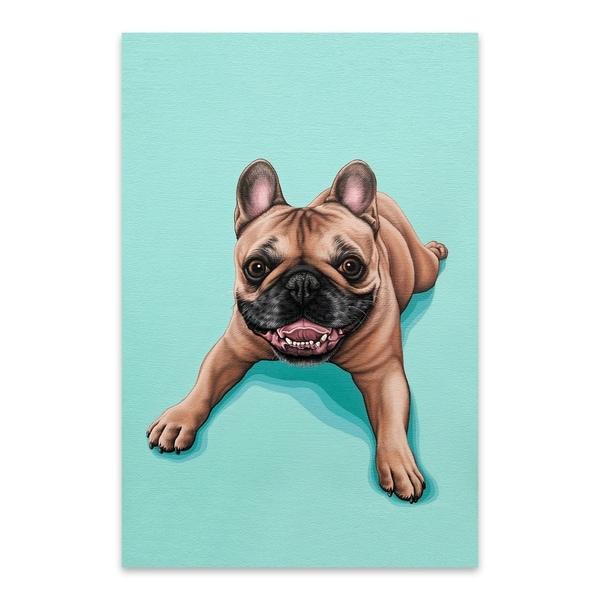 Modern French Bulldog Art
