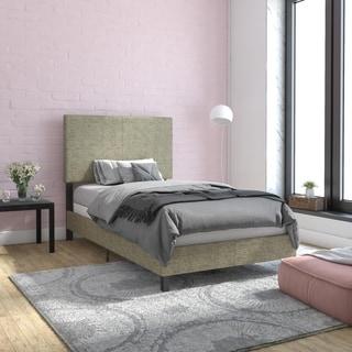 Link to Porch & Den Bledsoe Upholstered Bed Similar Items in Bedroom Furniture