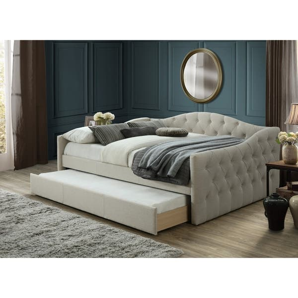 half off aec5d e8caf Shop Atlanta Queen Day Bed With Twin Trundle - On Sale ...