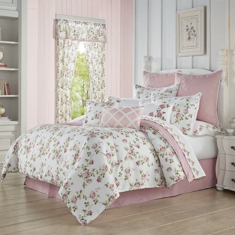 Royal Court Rosemary Country Chic Floral Comforter Set