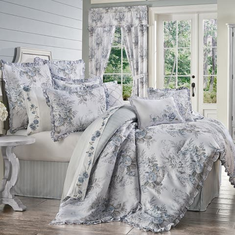 Royal Court Estelle Farmhouse Floral Comforter Set