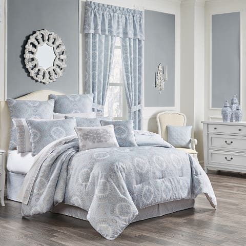 Gracewood Hollow Gangbo Medallion Comforter Set