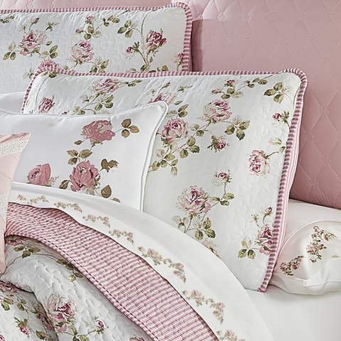 The Gray Barn Little Bess Country Chic Floral 3-piece Quilt Set