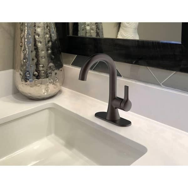 Pop Up Bathroom | Shop Fontaine Varenne 4 In Centerset Single Handle Modern
