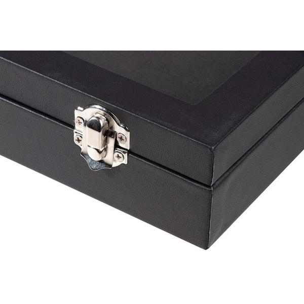 Jewellery Box Black Glass     ...Damaged packaging