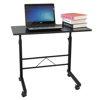 Removable P2 15MM Chipboard & Steel Side Table Computer Desk 2 Colors