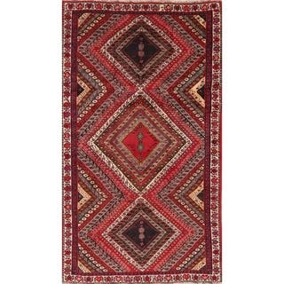 "Tribal Oriental Kashkoli Traditional Hand Knotted Persian Area Rug - 9'3"" x 5'4"""