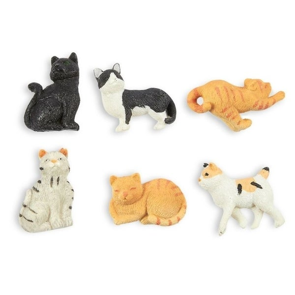 6PCS Cat Magnets - Funny Animal Refrigerator Magnets, Animal Cat Lover Gifts