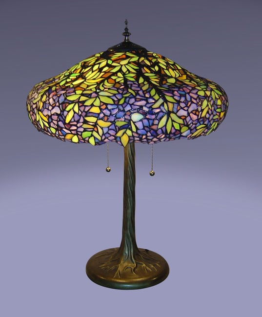 Ordinaire Tiffany Style Laburnum Table Lamp