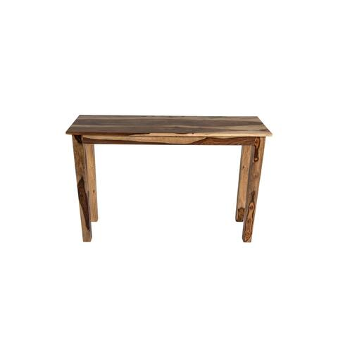 NewRidge Home Aspen Collection Console Table, natural wood